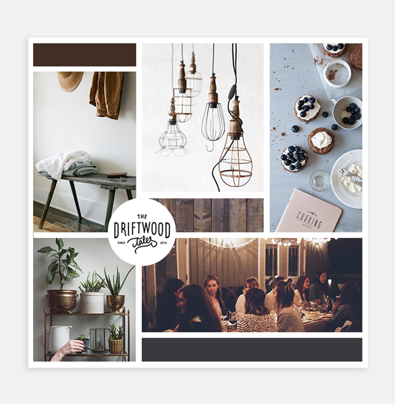 Zest Bakery & Coffeehouse moodboard / Little Bison Studio