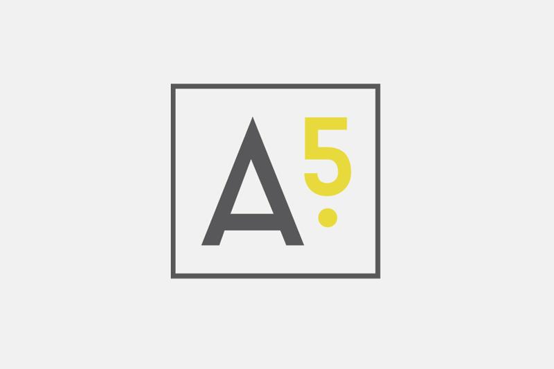 Apt5 abbreviated logo / Little Bison Studio