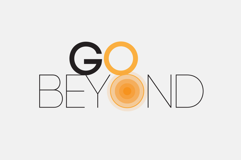 Go Beyond logo / Little Bison Studio