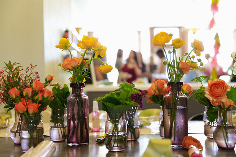 Floral Workshop / photography by Kirsty Gungor / Little Bison Studio